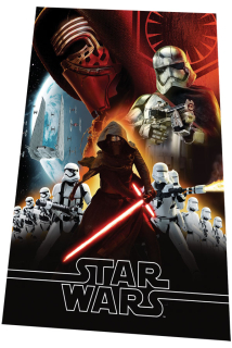 Fleece deka Star Wars VII 100/150